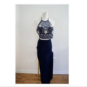 A Navy Blue Prom Night